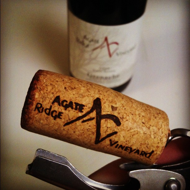 Agate Ridge Vineyards Grenache