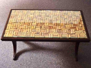 cork coffee table