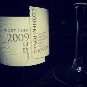2009 Cornerstone Pinot Noir