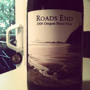 2008 Roads End Pinot Noir by Carlton Cellars