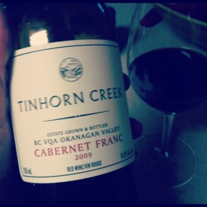 Tinhorn Creek Cabernet Franc 2009