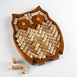 Owl Cork craft