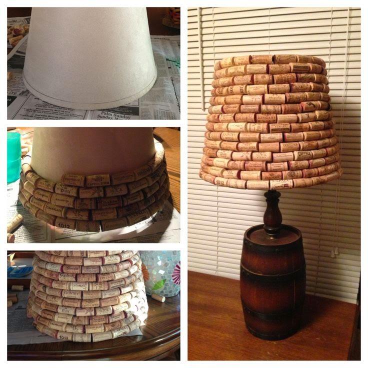 wine cork lamp by modern magizin