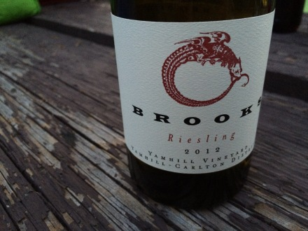 Brooks Wine 2012 Yamhill Reisling