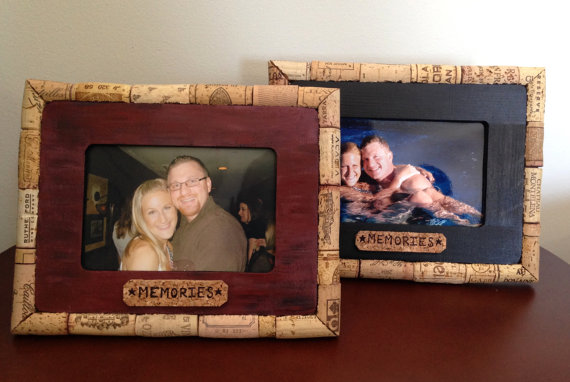 Wine Cork Picture Frame