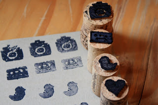 Wine Cork Stamp DIY