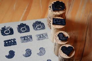 Wine Cork Stamp DIY